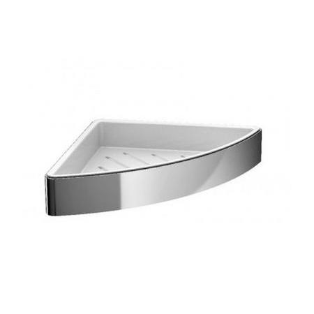 Emco Loft Półka prysznicowa narożna 17,9x17,9x3,6 cm, chrom 054500103