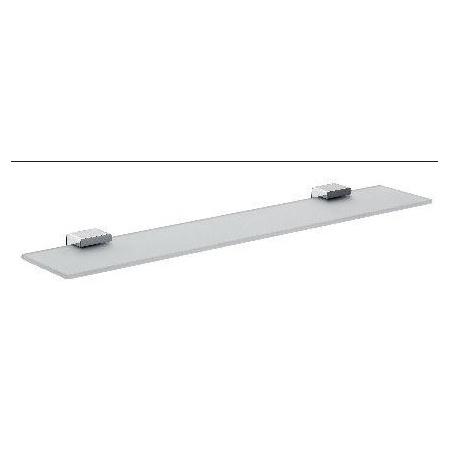 Emco Loft Półka szklana 60x11,2x2,5 cm, chrom 051000160