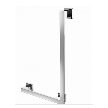 Emco Loft Uchwyt łazienkowy narożny lewy 41,2x8,1x66,2 cm, chrom 057000106