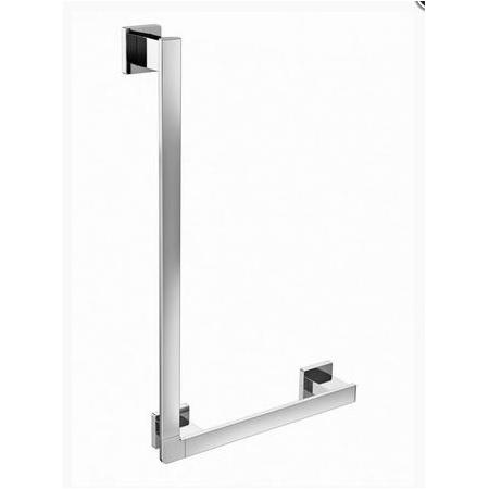 Emco Loft Uchwyt łazienkowy narożny prawy 41,2x8,1x66,2 cm, chrom 057000107
