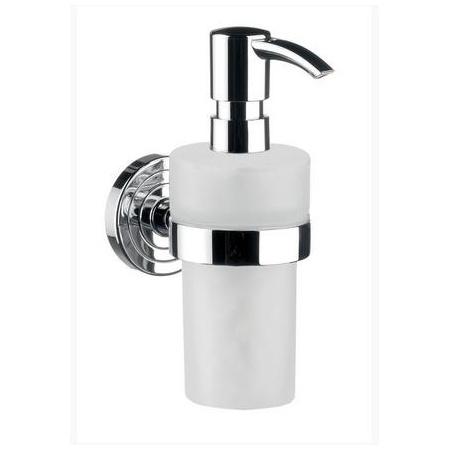 Emco Polo Dozownik do mydła w płynie z uchwytem 6,4x11,6x17,1 cm, chrom 072100102