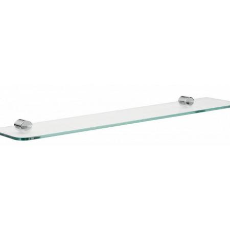 Emco Rondo 2 Półka szklana 60x12,5x3 cm, chrom 451000160