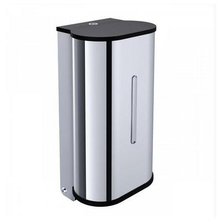 Emco System 2 Dozownik do mydła w płynie 14,2x10,9x26,9 cm, chrom 352100103