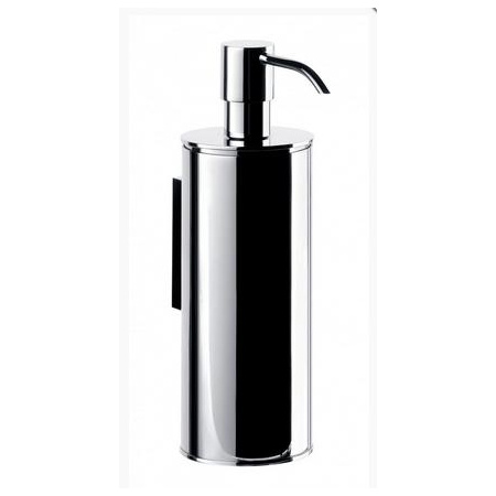 Emco System 2 Dozownik do mydła w płynie w metalowej obudowie 6x10x18 cm, chrom 352100105