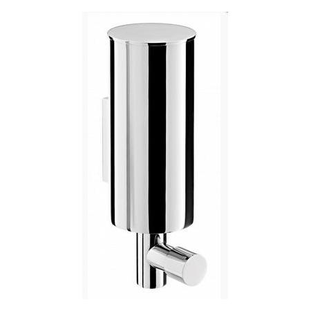 Emco System 2 Dozownik do mydła w płynie w metalowej obudowie 6x8,6x17,8 cm, chrom 352100102