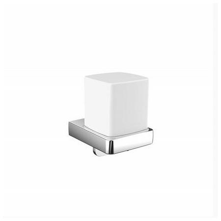 Emco Trend Dozownik do mydła w płynie z uchwytem 8,1x10x11,4 cm, chrom 022100101