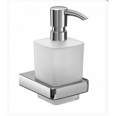 Emco Trend Dozownik do mydła w płynie z uchwytem 8,1x10x15,9 cm, chrom 022100100