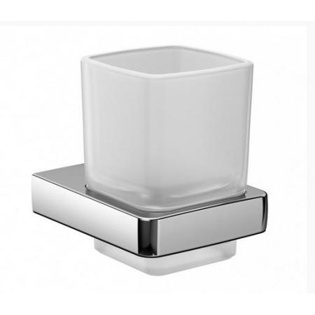 Emco Trend Kubek szklany z uchwytem 8,1x10x25 cm, chrom 022000100