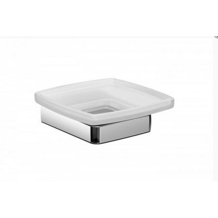 Emco Trend Mydelniczka szklana z uchwytem 12x12,2x4,2 cm, chrom 023000100