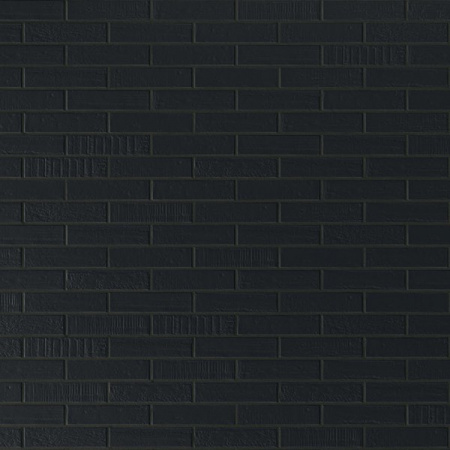 Emil Ceramica Brick Designe Płytka podłogowa 6x25 cm, czarna ECBRIDESPP6X25C