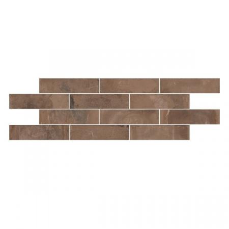 Emil Ceramica Kotto Brick Mattone Gres Płytka podłogowa 6x25 cm, brązowa ECKOBRMGPP6X25B
