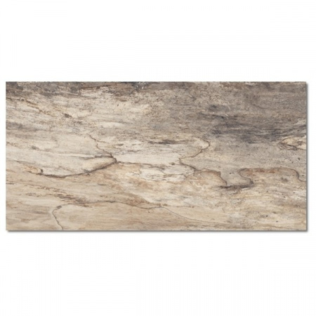 Emil Ceramica Petrified Tree Beige Bark Naturale Płytka podłogowa 45x90 cm, beżowa 944D1R