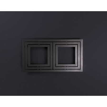 Enix Libra Grzejnik dekoracyjny 110x60 cm, grafitowy L00111006001410E1000