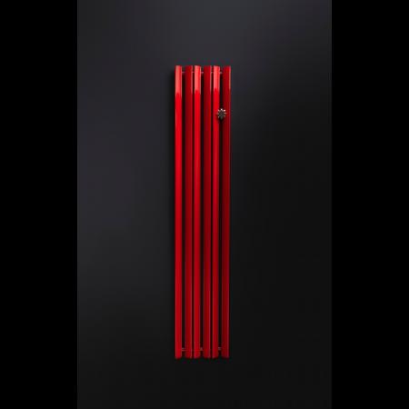 Enix Mango Grzejnik dekoracyjny 34x180cm, czerwony MG00340180044N071000