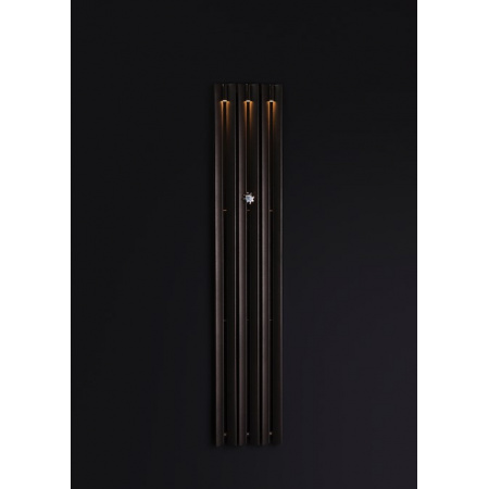 Enix Mango Light Grzejnik dekoracyjny z oświetleniem 34x160cm, grafitowy ML00340160044N071000