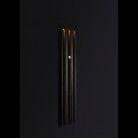 Enix Mango Light Grzejnik dekoracyjny z oświetleniem 34x180cm, grafitowy ML00340180044N071000