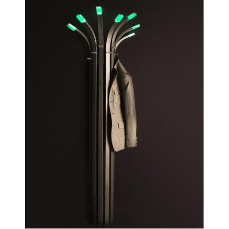Enix Palma Grzejnik dekoracyjny z oświetleniem 66,8x188,6cm, grafitowy PL006681886140081000