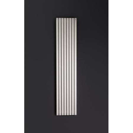 Enix Santos Grzejnik dekoracyjny 37,6x200 cm, grafitowy ST00376200014P081000