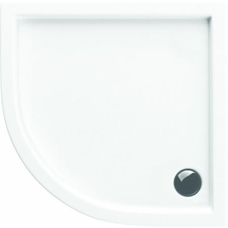 Excellent Actima Base Brodzik półokrągły 80x80 cm akrylowy, biały BRAC.1101.800.LP
