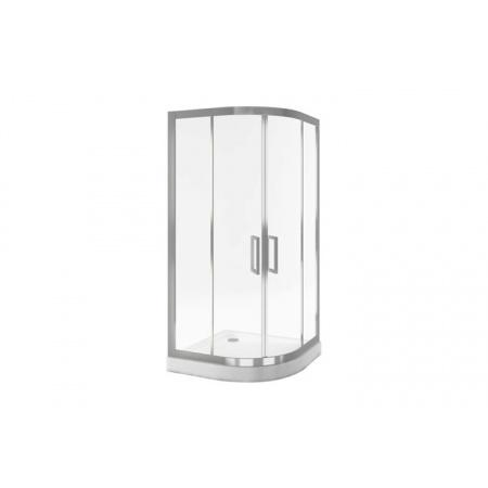 Excellent Actima Seria 600 Kabina prysznicowa półokrągła 90x90x195 cm, profile chrom szkło przezroczyste KAAC.1901.900.LP