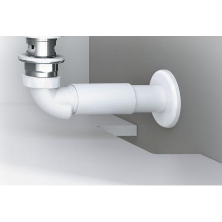 Excellent Actima Syfon umywalkowy-bidetowy niski, biały INPU.8075536P.WH