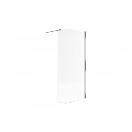 Excellent Actima Walk-In Ścianka gięta 85x36x200 cm, profile chrom szkło przezroczyste KAAC.1507.850.LP