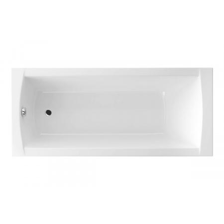 Excellent Aquaria Wanna prostokątna 139,5x70 cm akrylowa z nóżkami, biała WAEX.AQU14WH