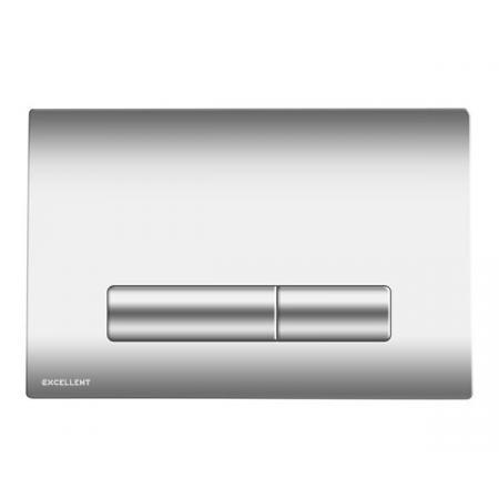 Excellent Aurro Przycisk spłukujący WC chrom INEX.AU230.150.CR