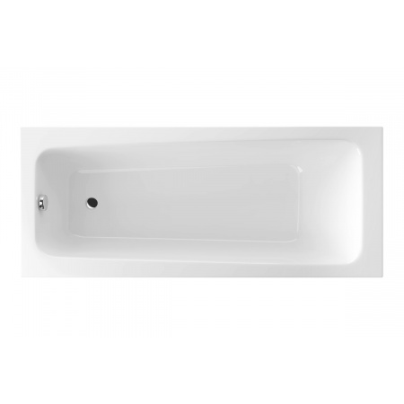 Excellent Ava Wanna prostokątna 160x70,5 cm akrylowa, biała WAEX.AVA16WH