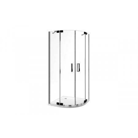 Excellent Axel Colors Kabina prysznicowa półokrągła 90x90x195 cm, profile chrom szkło przezroczyste KAAX.1301.900.PL