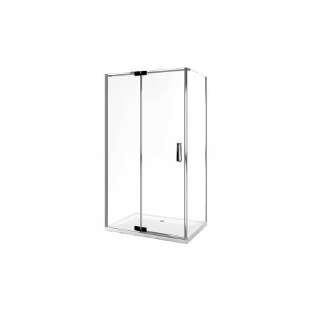 Excellent Axel Colors Ścianka boczna 80x195 cm, profile chrom szkło przezroczyste KAAX.1306.800.PL