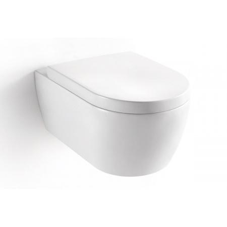 Excellent Axel Doto Toaleta WC podwieszana 54,5x36 cm z deską sedesową wolnoopadającą, biała CEEX.1509.545.WH