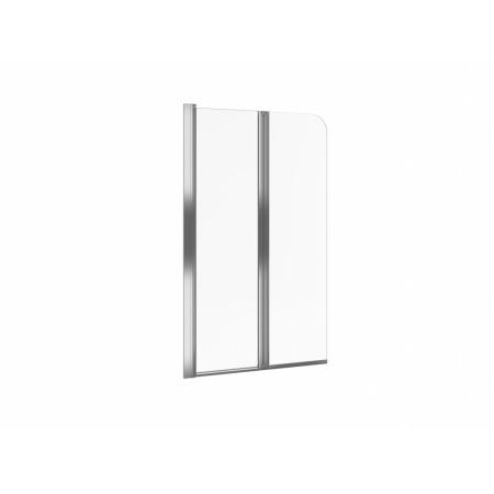 Excellent Axel Parawan nawannowy 80x140 cm lewy, profile chrom szkło przezroczyste KAAX.1309.800.LE