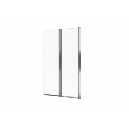 Excellent Axel Parawan nawannowy 80x140 cm prawy, profile chrom szkło przezroczyste KAAX.1309.800.PR