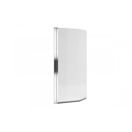 Excellent Be Spot Parawan nawannowy jednoczęściowy gięty 75x140 cm lewy, profile chrom szkło przezroczyste KAEX.2309.750.LE