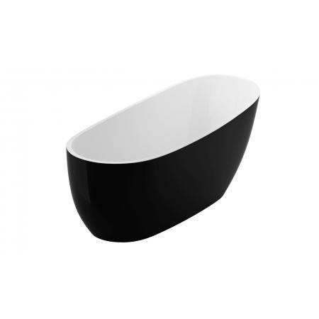 Excellent Comfort 2.0 Wanna wolnostojąca 175x74 cm biała/czarna WAEX.CMP2.17WB