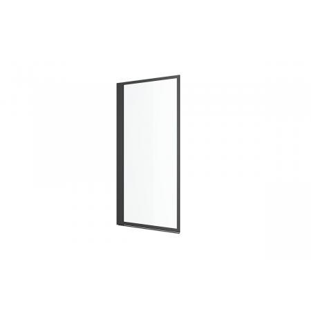 Excellent Fabrika Parawan nawannowy jednoczęściowy 73x145 cm profile czarny mat szkło przezroczyste z powłoką CleanControl KAEX.4030.730.LP