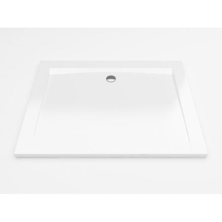 Excellent Forma Brodzik prostokątny 80x120 cm niski, biały BREX.FOR128WHN