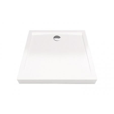 Excellent Forma Brodzik kwadratowy 90x90 cm niski, biały BREX.FOR09WHN