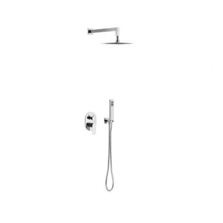 Excellent Glad Zestaw wannowo-prysznicowy podtynkowy chrom połysk ARAC.SET.1145CR