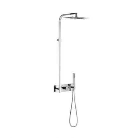 Excellent Krotos Zestaw prysznicowy podtynkowy z termostatem chrom AREX.8081CR