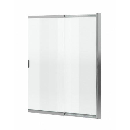 Excellent Liner Parawan nawannowy 110x140 cm rozsuwany, profile chrom szkło przezroczyste Clean Control KAEX.2920.1100.LP
