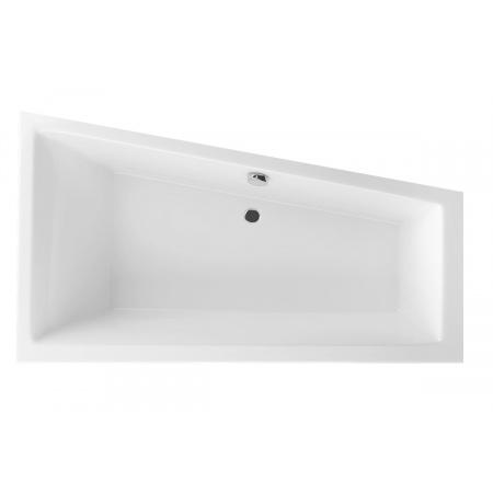 Excellent M-Sfera Slim Wanna asymetryczna 160x95 cm akrylowa prawa, biała WAEX.MSP16WHS