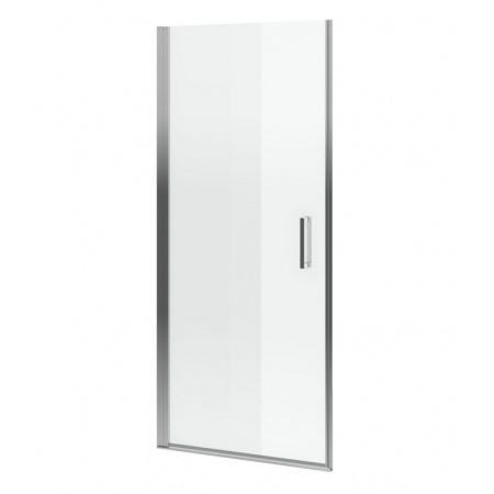 Excellent Mazo Drzwi prysznicowe 80x195 cm uchylne, profile chrom szkło przezroczyste Clean Control KAEX.3005.1010.8000.LP