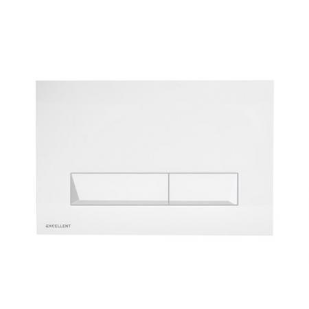 Excellent Platto Przycisk spłukujący WC biały INEX.PL230.150.WH