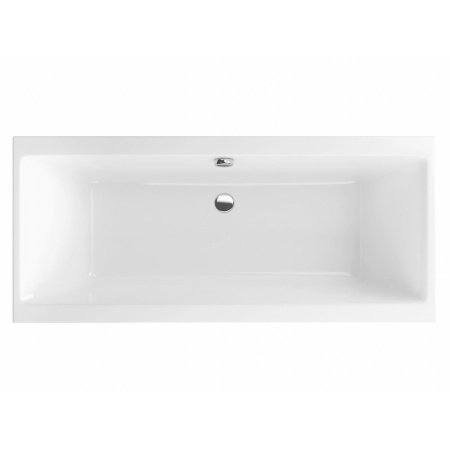 Excellent Pryzmat Slim Wanna prostokątna 160,5x75,5 cm akrylowa, biała WAEX.PRY16WHS