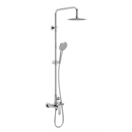 Excellent Rain Oxalia Zestaw prysznicowy natynkowy z deszczownicą, chrom AREX.9081CR