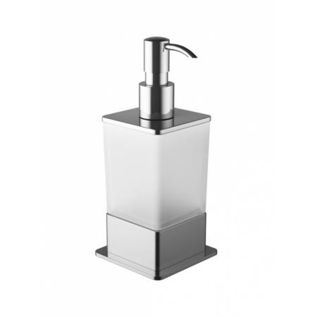 Excellent Riko Dozownik do mydła w płynie stojący, chrom/szkło DOEX.1616CR