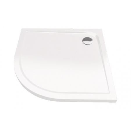 Excellent Sense Brodzik półokrągły 90x90 cm akrylowy niski, biały BREX.SEN09WHN