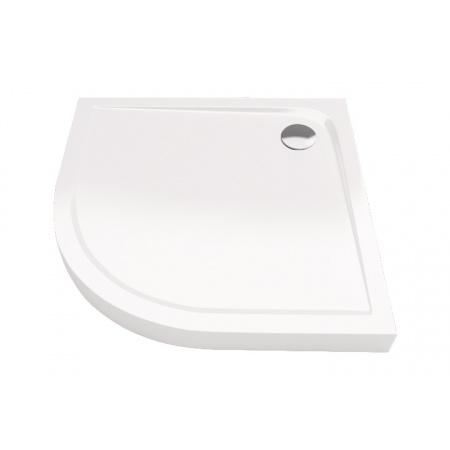 Excellent Sense Compact Brodzik półokrągły 90x90 cm wysoki, biały BREX.SEN09WHC